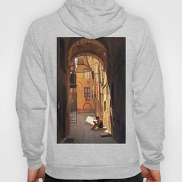 ARCHWAY and Sardinian fish traps Hoody