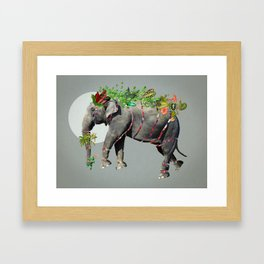 Bestiario: Elefanta Framed Art Print