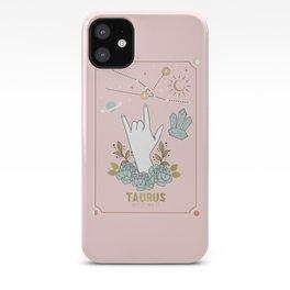 Taurus Zodiac Series iPhone Case