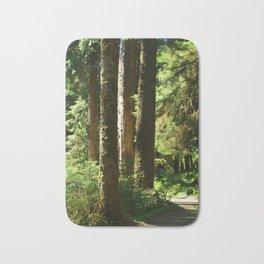 Walkway in Hoh Rainforest Bath Mat