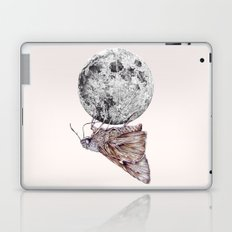 In which a moth is enticed by the light of the moon Laptop & iPad Skin