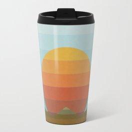 Sunset in Spectrum Travel Mug