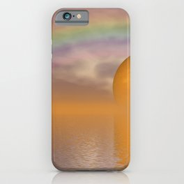 when the moon touched earth -13- iPhone Case