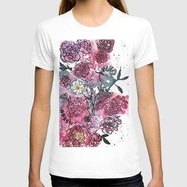 Flower Illustration T-shirt