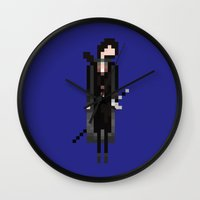 aragorn Wall Clocks featuring Aragorn by LOVEMI DESIGN