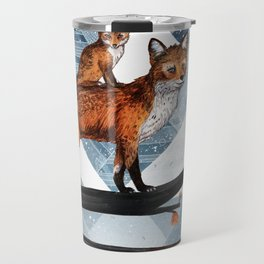 Fox Wood Travel Mug