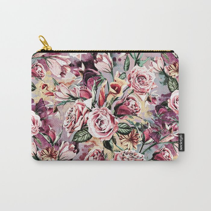 RPE FLORAL VIII Carry-All Pouch