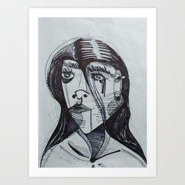 Line of Sight Art Print