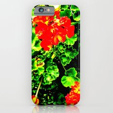 Red Flowers (Edited)  Slim Case iPhone 6s