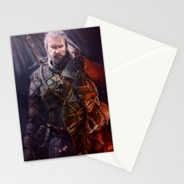 The White Wolf Stationery Cards