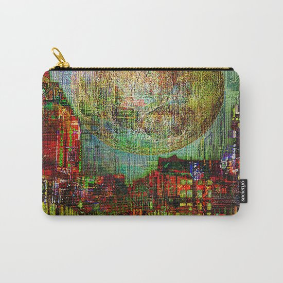 Moon on the city Carry-All Pouch