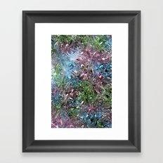 Liquid Bling Framed Art Print