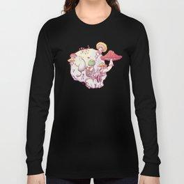 Skull No.1 // The Mushrooms One Long Sleeve T-shirt