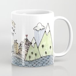 We Belong in Portland Coffee Mug