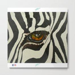 #1 - Per la realizzazione dell'opera nessun animale è stato maltrattato, imbalsamato o appeso. Metal Print