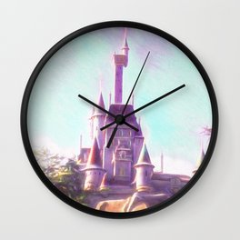 Rapunzel's Castle Wall Clock