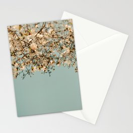 Falling Into Spring Stationery Cards