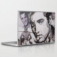 elvis Laptop & iPad Skins featuring Elvis by Ross Collins Artist