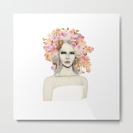 Fashion Vignette - September 2017 Metal Print