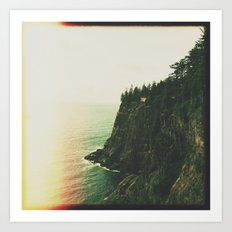 cliff Art Print