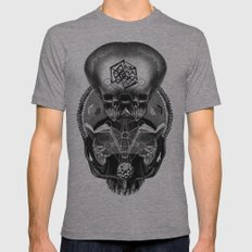 Grimoire Mens Fitted Tee Athletic Grey SMALL