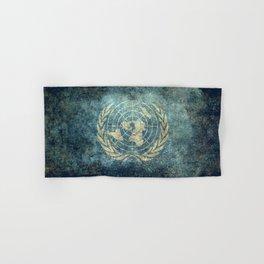 United Nations Flag - Vintage version Hand & Bath Towel
