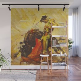 Vintage Mexico Bullfighting Travel Wall Mural