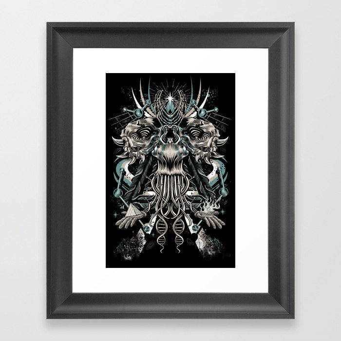 Cosmic Dust Framed Art Print