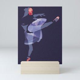 Suspended Movement Mini Art Print