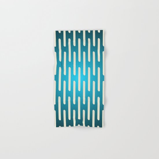 seamless pattern with gradient background Hand & Bath Towel