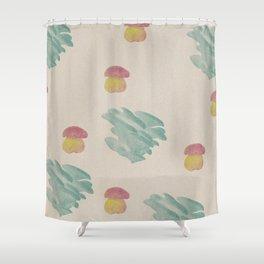 Mushroom 2 Shower Curtain