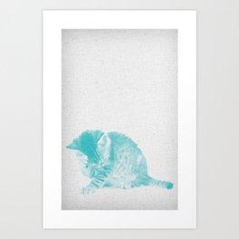 Kitten 02 Art Print