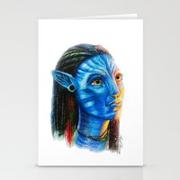 avatar Stationery Cards featuring Avatar by Aoife Rooney Art