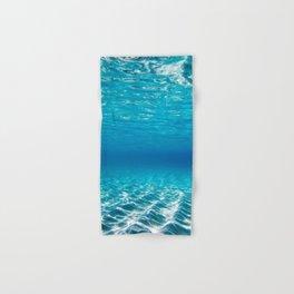Aqua Blue Bliss Hand & Bath Towel