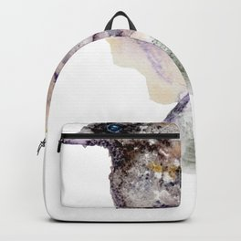 Watercolor Dunnock Painting Backpack