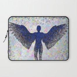 Rainbow Angel Explosion Laptop Sleeve
