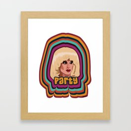 Katya Zamolodchikova - Party Framed Art Print