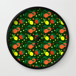 Juicy Citrus Wall Clock
