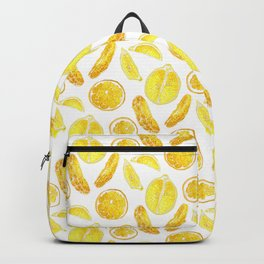 Sweet and sour cirtus fruits Backpack