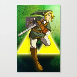 LINK - LEGEND OF ZELDA Canvas Print