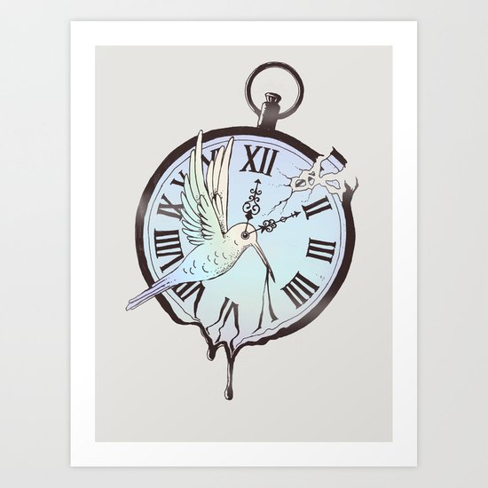 Why Waste Time (If We're Not Long for This World)? Art Print