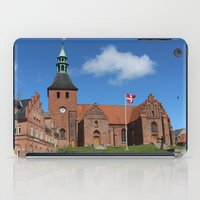 denmark iPad Cases featuring Vor Frue Kirke, Svendborg, Denmark by Anders Riise Koch