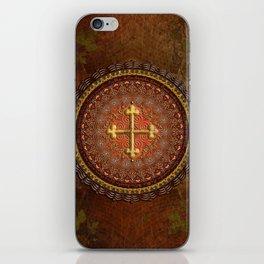 Mandala Armenian Cross iPhone Skin