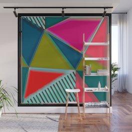 Art Deco | Modern Art | Vibrant Colors | Pastels | Art Wall Mural