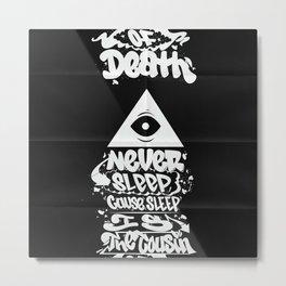 Nasty Nas Metal Print