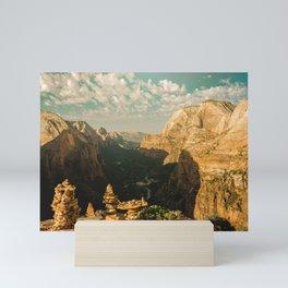 Zion Mornings - 127/365 National Parks Mini Art Print