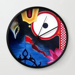 Lord Jagannath Wall Clock