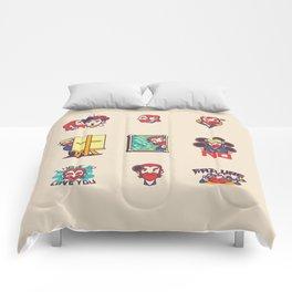 Van Gogh Stickers Comforters