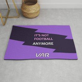 VAR It's not football Rug