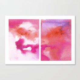 Diptych 9 Canvas Print